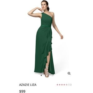Azazie Liza Bridesmaid Dress -Worn Once-